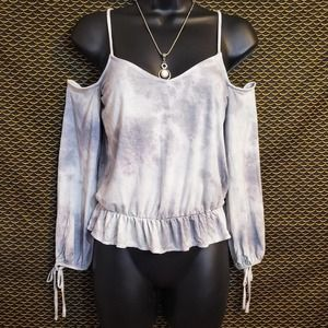 American Eagle Outfitters Soft & Sexy Crop Blouse